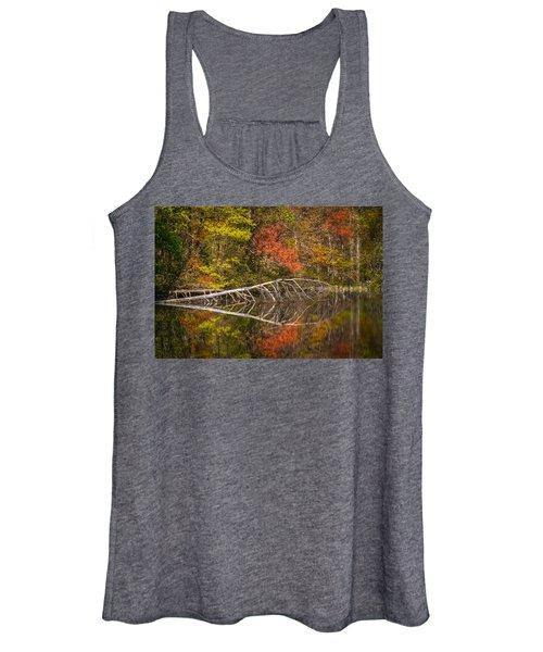 Quiet Waters In Autumn Women's Tank Top