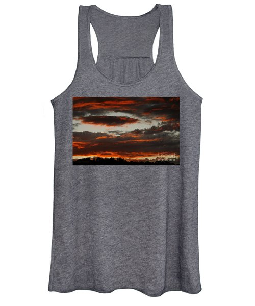 Raging Sunset Women's Tank Top
