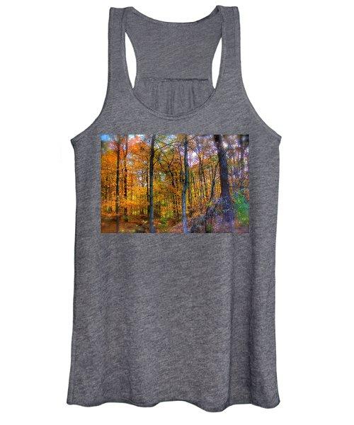 Rainbow Woods Women's Tank Top
