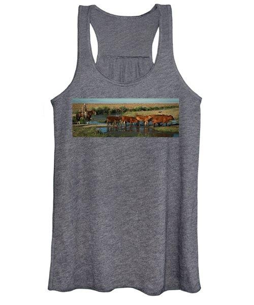 Red Cattle Women's Tank Top