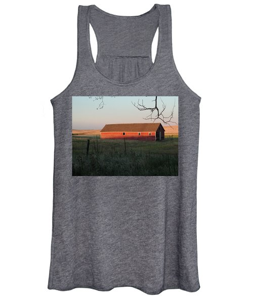 Red Granary Barn Women's Tank Top