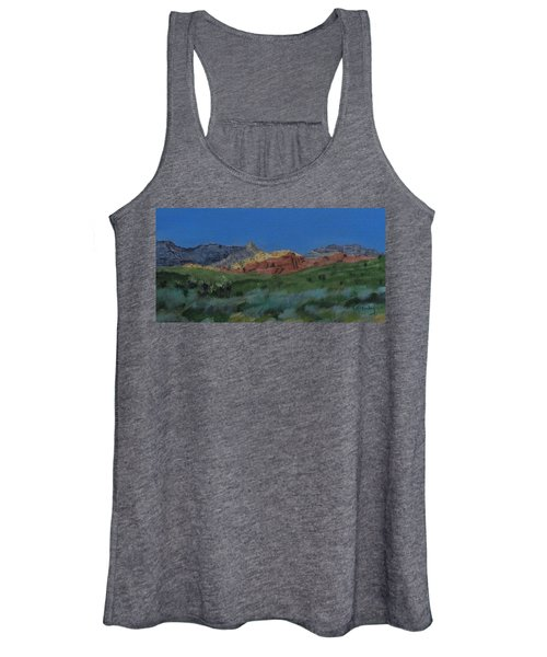 Red Rock Canyon Panorama Women's Tank Top