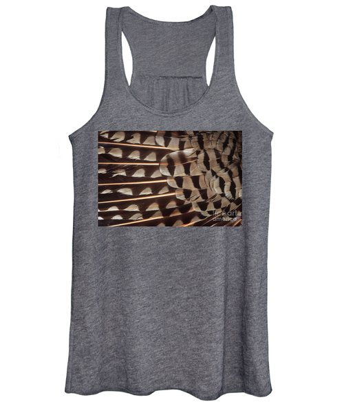 Red-shafted Flicker Feathers Women's Tank Top