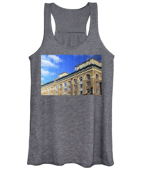 Reflected Building London Women's Tank Top