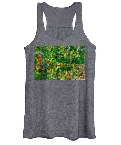 Reflecting On The Day Women's Tank Top