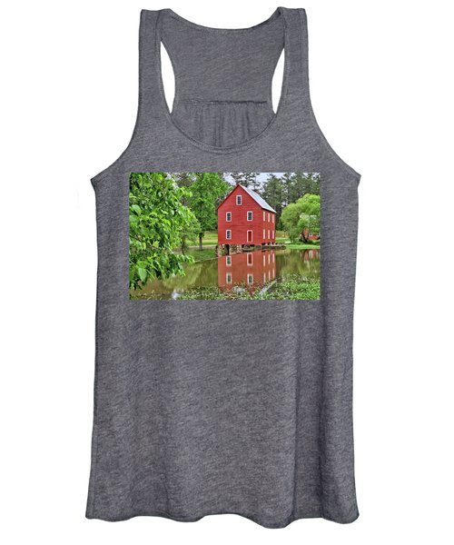 Reflections Of A Retired Grist Mill Women's Tank Top