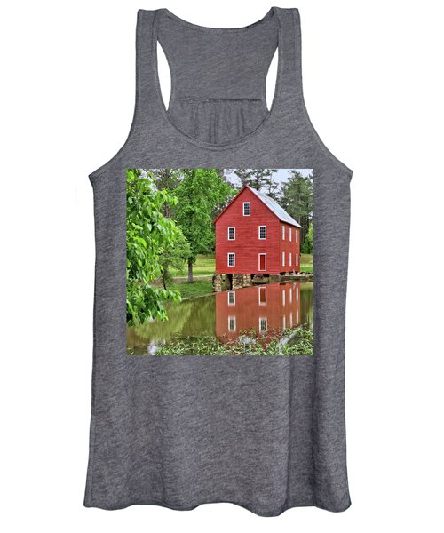 Reflections Of A Retired Grist Mill - Square Women's Tank Top