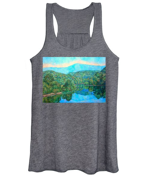 Reflections On The James River Women's Tank Top