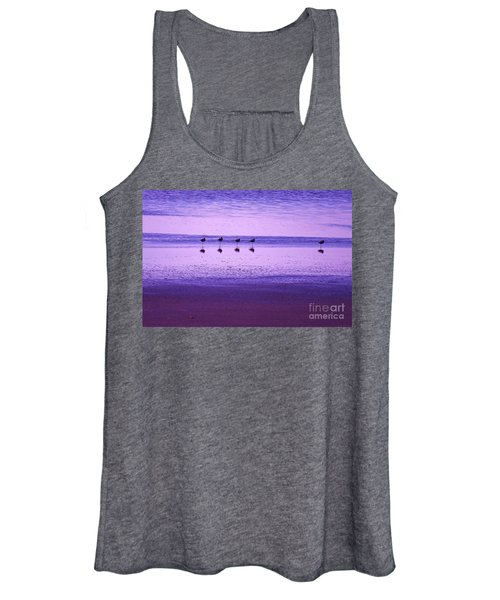 Avocets Resting In The Sunset Women's Tank Top