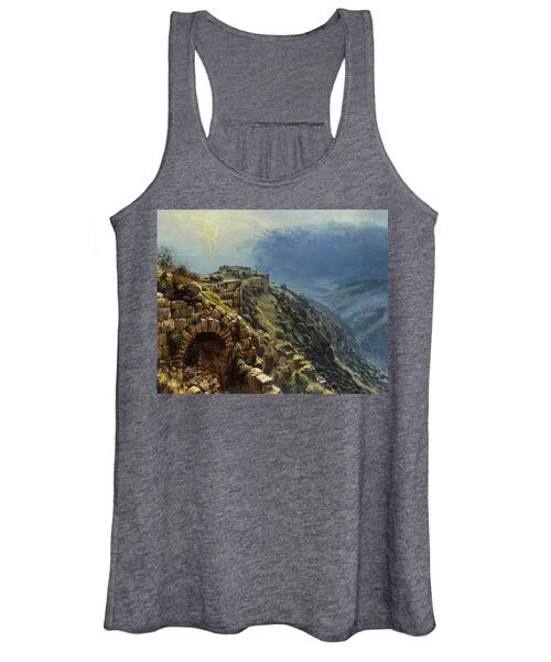 Rider On A White Horse Women's Tank Top