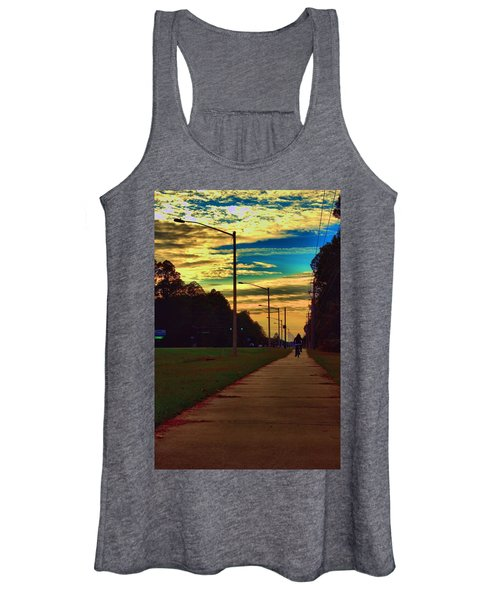 Riding Into The Sunset Women's Tank Top