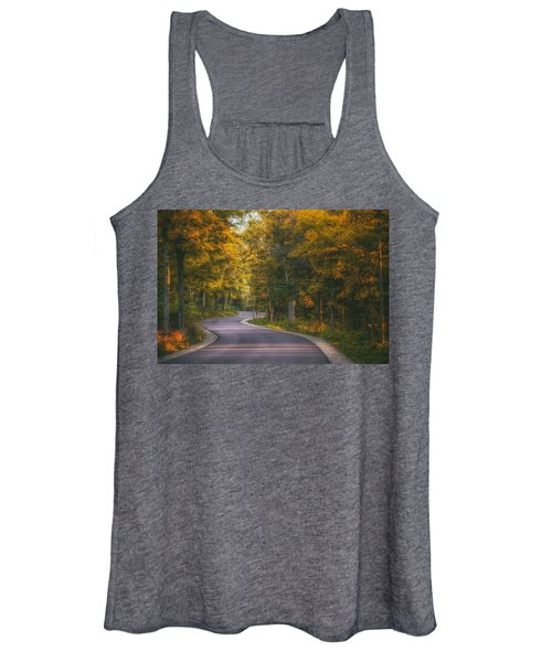 Road To Cave Point Women's Tank Top