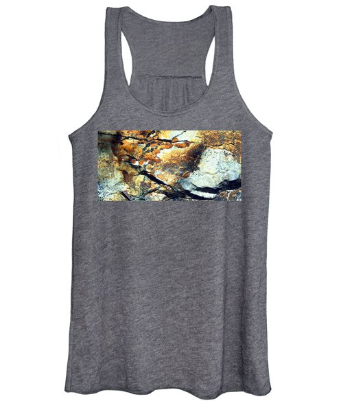 Rock Wasatch National Forest Ut Usa Women's Tank Top