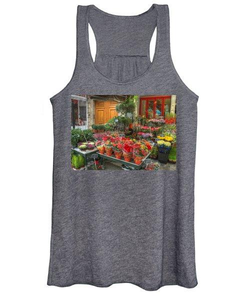 Rue Cler Flower Shop Women's Tank Top