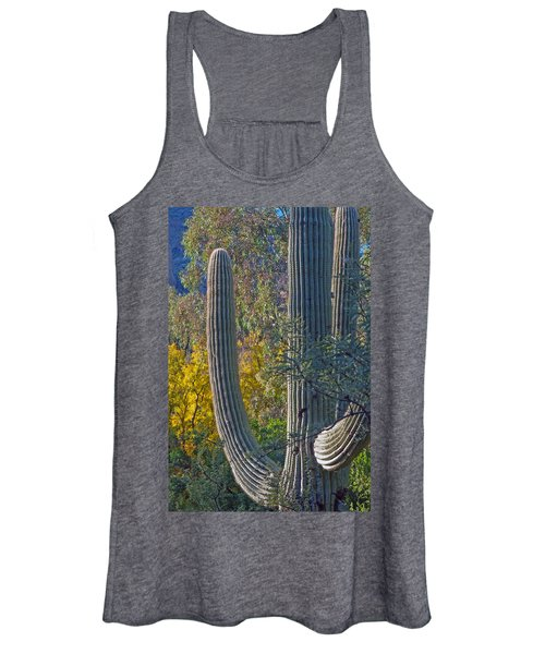 Saguaro Fall Color Women's Tank Top