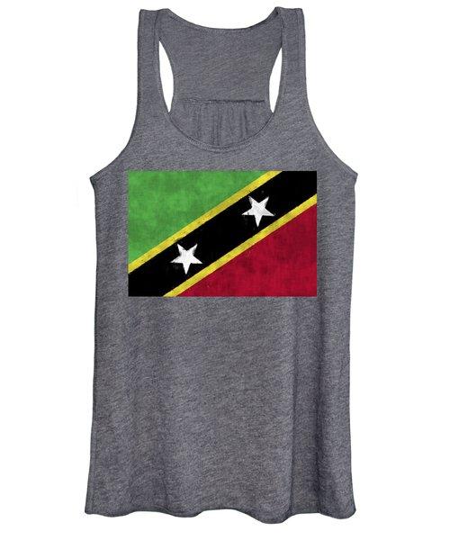 Saint Kitts And Nevis Flag Women's Tank Top