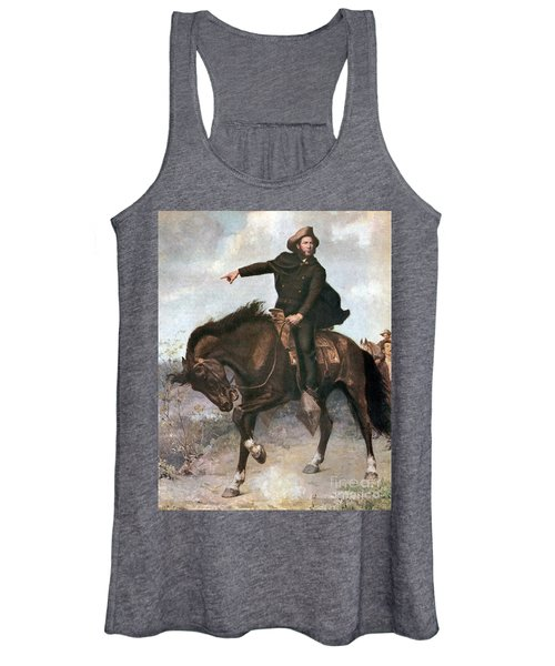 Sam Houston At Battle Of San Jacinto Women's Tank Top