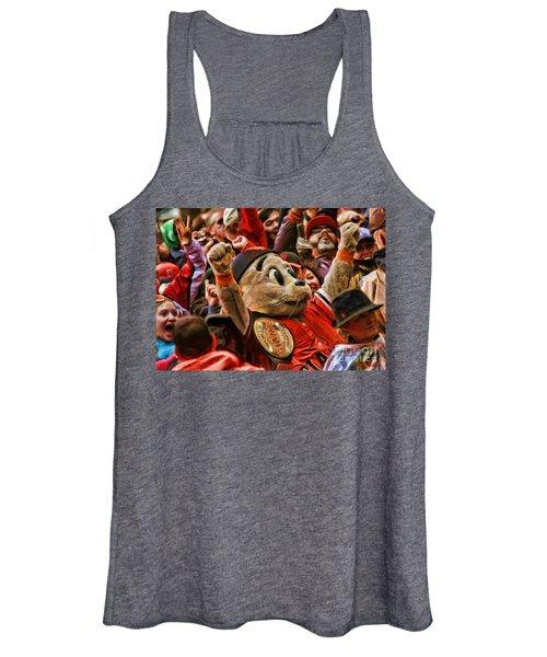 San Francisco Giants Mascot Lou Seal Women's Tank Top