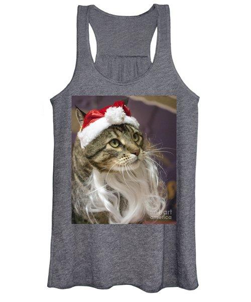 Santa Cat Women's Tank Top