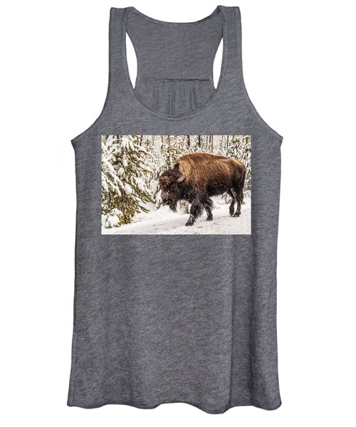 Scary Bison Women's Tank Top