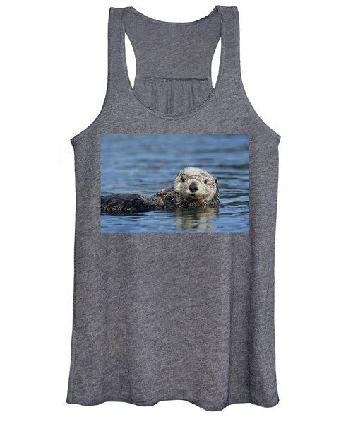 Sea Otter Alaska Women's Tank Top