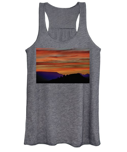 Sedona Az Sunset 2 Women's Tank Top
