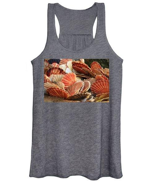 Shells On The Shore Women's Tank Top
