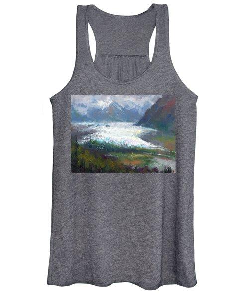 Shifting Light - Matanuska Glacier Women's Tank Top