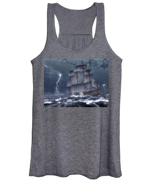 Ship In A Storm Women's Tank Top