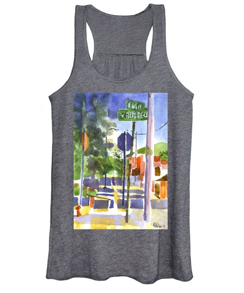 Sign Posts Women's Tank Top