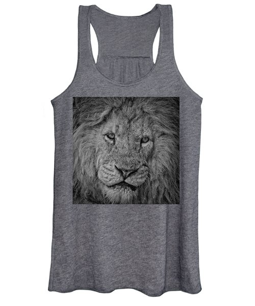 Silver Lion Women's Tank Top