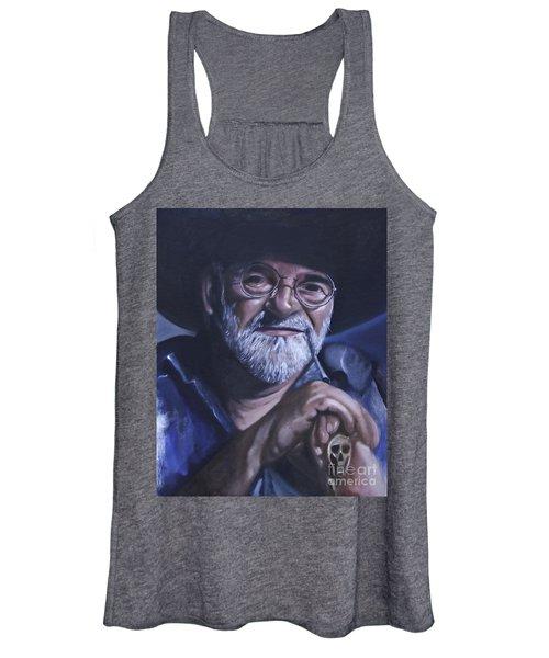 Sir Terry Pratchett Women's Tank Top