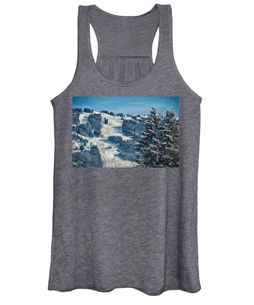 Ski Run Women's Tank Top