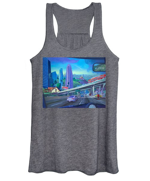 Skyfall Double Vision Women's Tank Top