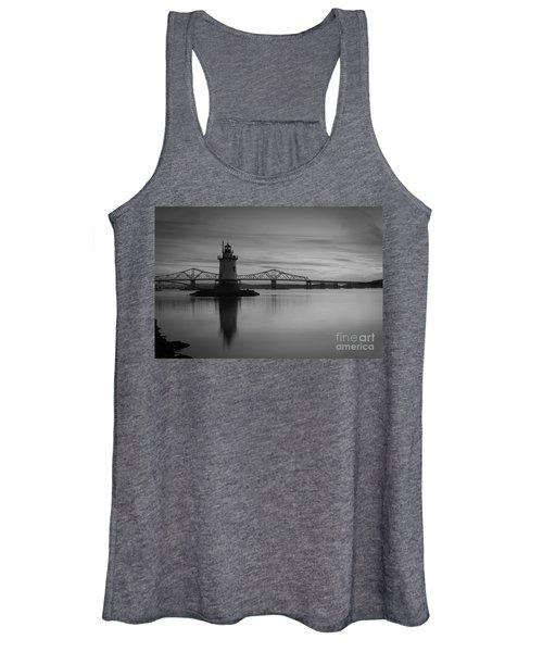 Sleepy Hollow Lighthouse Bw Women's Tank Top