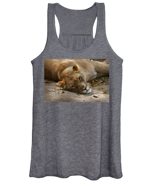 Sleepy Lioness Women's Tank Top