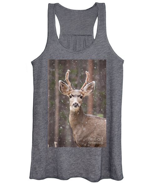 Snow Deer 1 Women's Tank Top