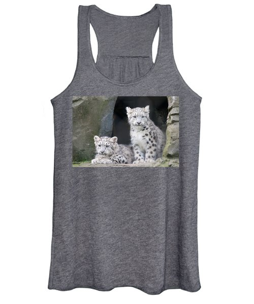 Snow Leopard Cubs Women's Tank Top