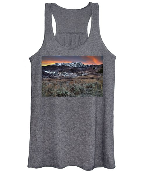 Snowbasin Fire And Ice Women's Tank Top