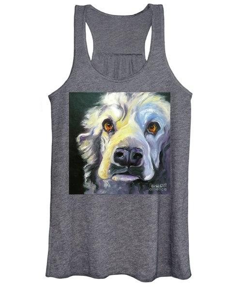 Spaniel In Thought Women's Tank Top