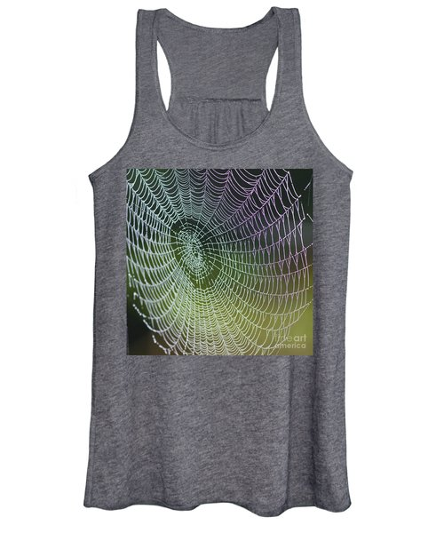 Spider Web Women's Tank Top