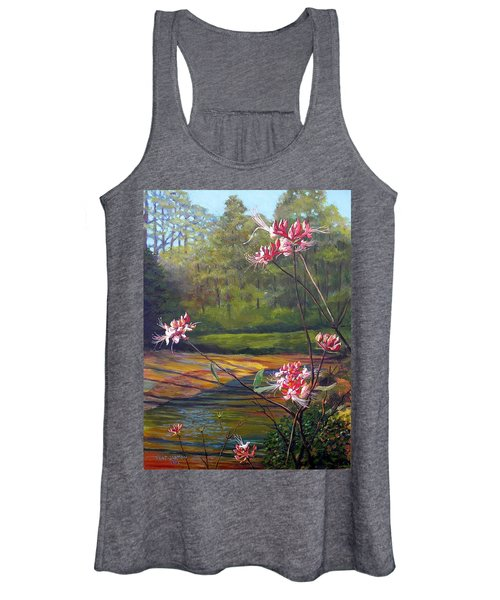 Spring Blooms On The Natchez Trace Women's Tank Top
