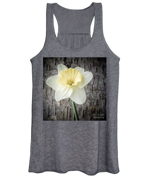 Spring Daffodil Square Women's Tank Top