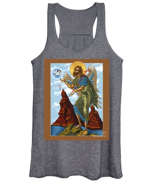 St. John The Forerunner Also The Baptist 082 Women's Tank Top