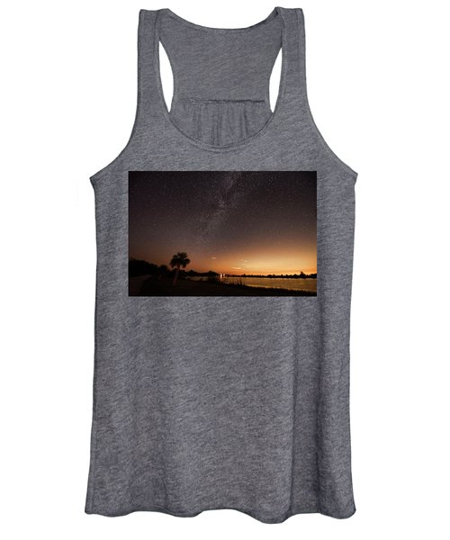Stars In Big Cypress National Preserve Women's Tank Top