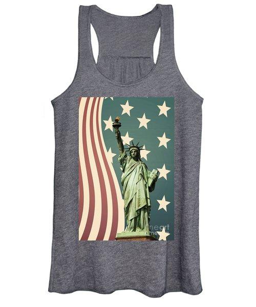 Statue Of Liberty Women's Tank Top