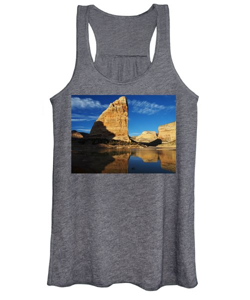 Steamboat Rock In Dinosaur National Monument Women's Tank Top