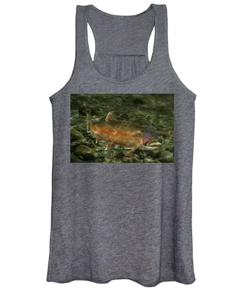 Steelhead Trout Spawning Women's Tank Top
