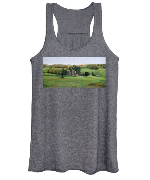 St.peters Church, Cumbria, 2003 Oil On Canvas Women's Tank Top
