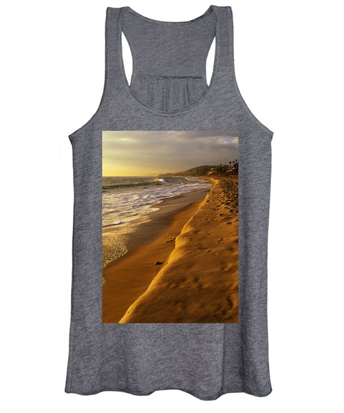 Strand Beach Dana Point At Sunset Women's Tank Top